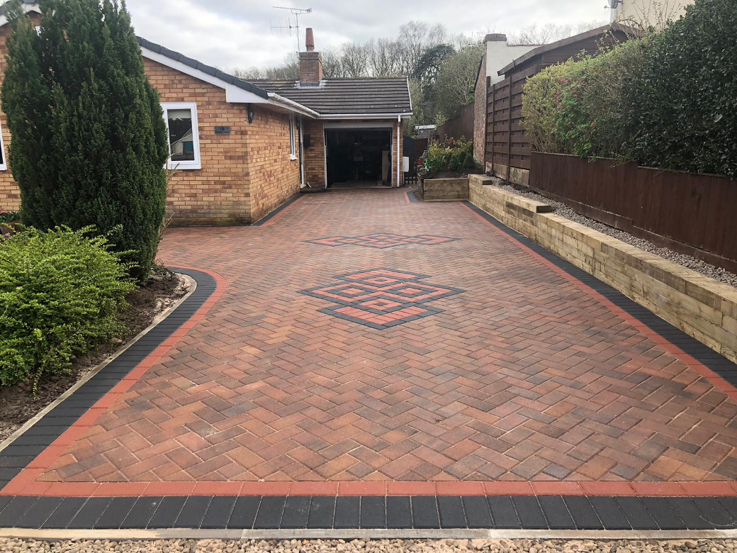 G D Quality paving laying a block driveway on The Wirral near Liverpool