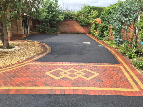 Tarmac and paving by GD Paving Liverpool.